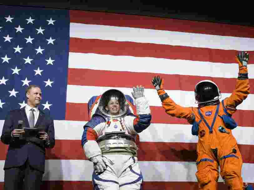 Voici les combinaisons spatiales des astronautes qui iront sur la Lune en 2024