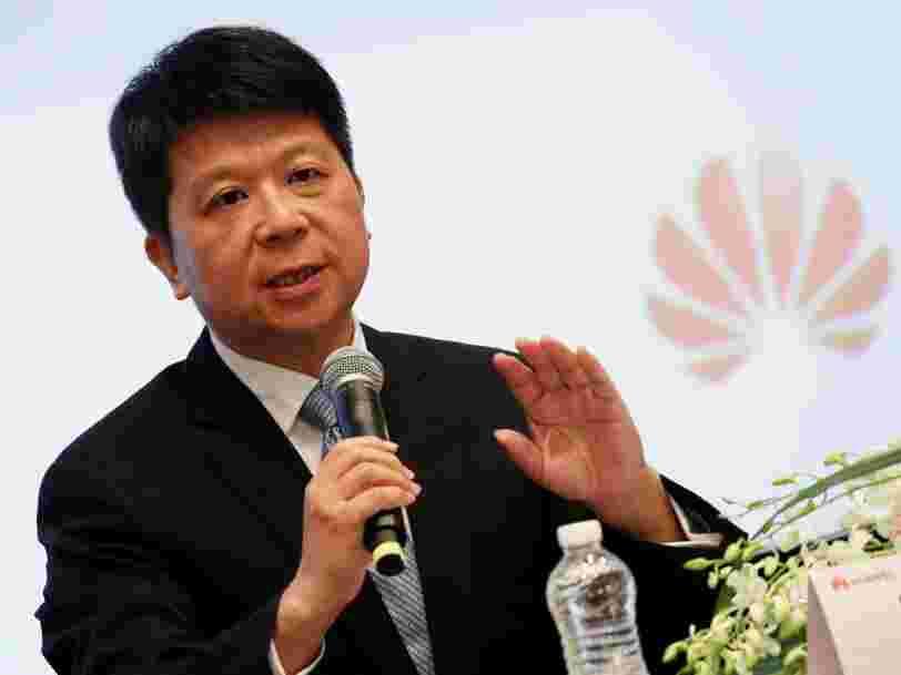La pression américaine n'empêche pas Huawei de présenter des résultats records