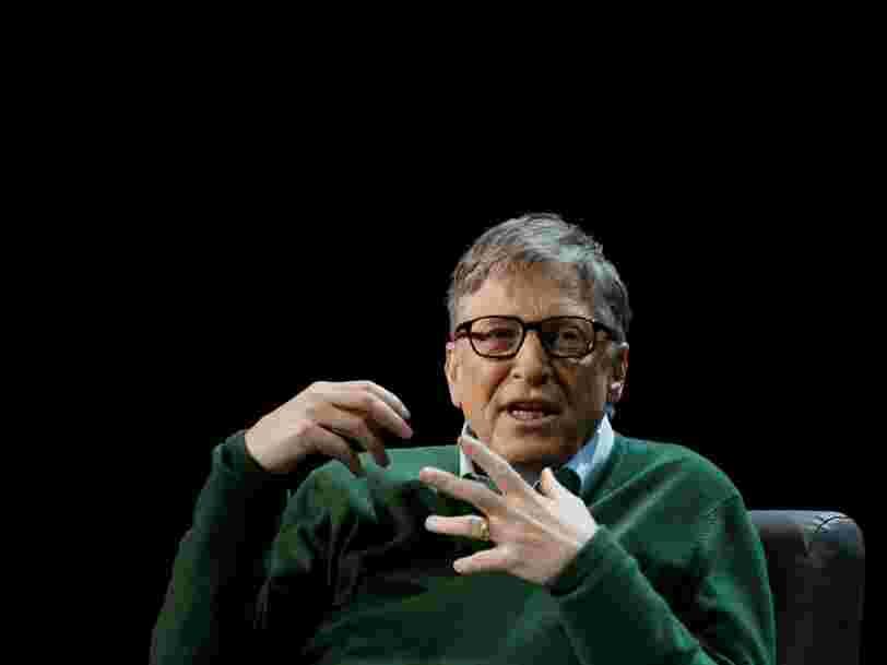 Voici 4 graphiques que Bill Gates adore parce qu'ils montrent que le monde va mieux