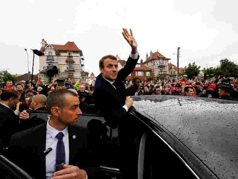 L'euro inscrit un plus haut après la victoire d'Emmanuel Macron