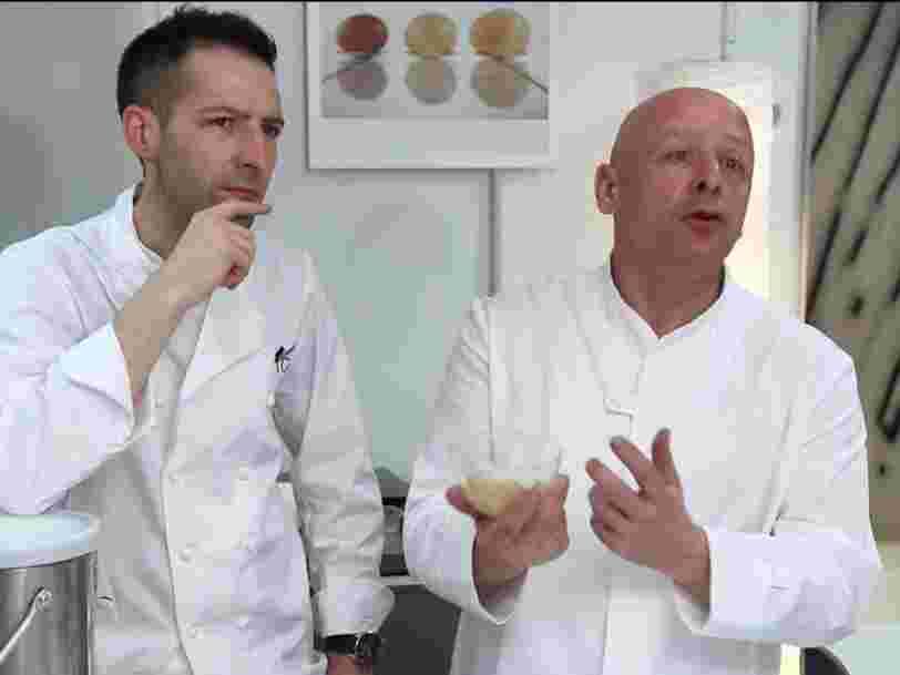 La cuisine du futur utilisera la science pour extraire de nouveaux arômes des aliments, selon le cofondateur du Centre français d'innovation culinaire de Thierry Marx