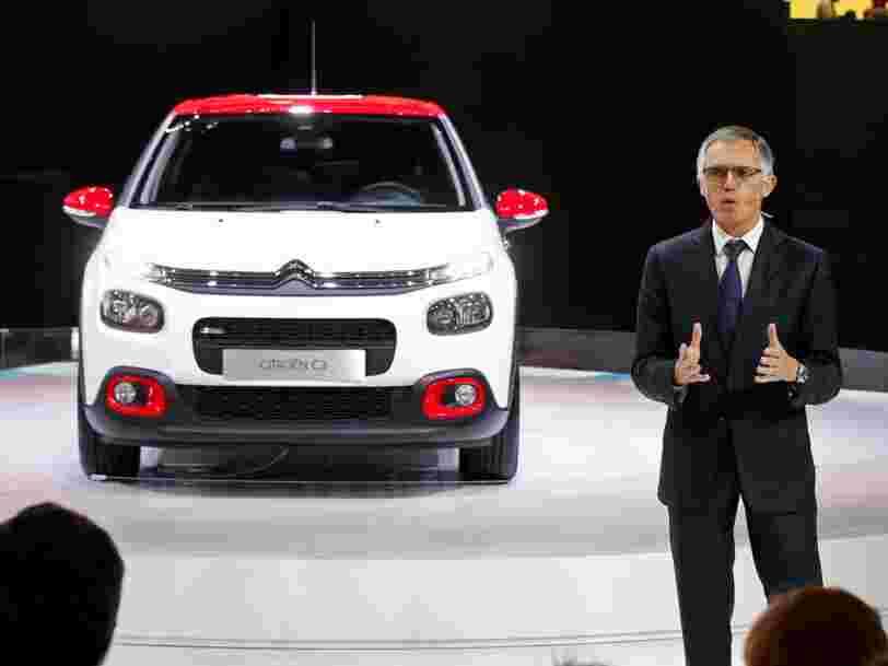 L'action de PSA est montée en flèche après l'évocation d'un possible rachat d'Opel