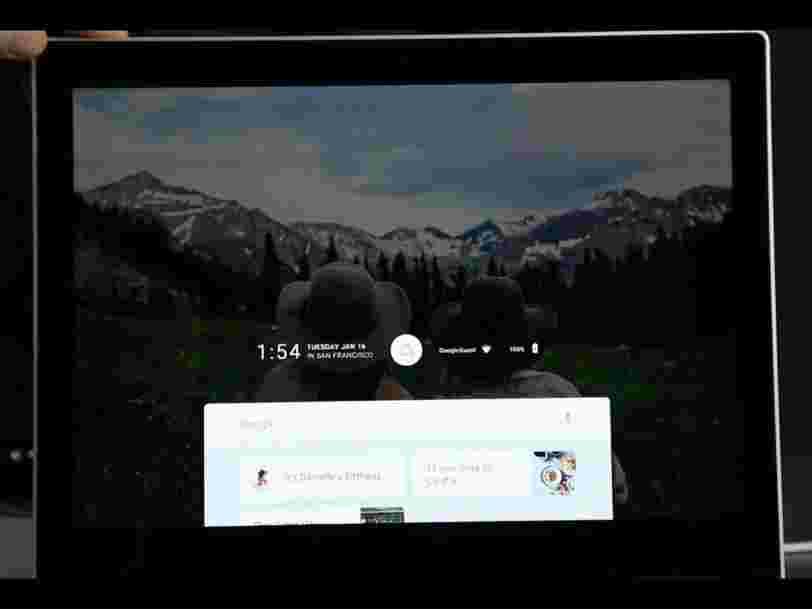 Voici à quoi pourrait ressembler le nouveau système d'exploitation de Google pour smartphones, tablettes et ordinateurs