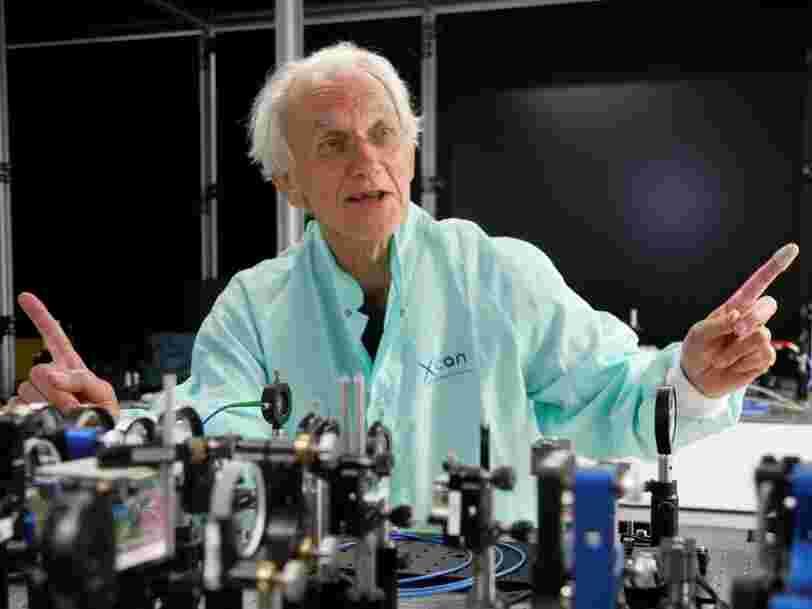 Le Français qui a reçu le prix Nobel de physique 2018 raconte que la découverte pour laquelle il a été récompensé est partie d'un accident
