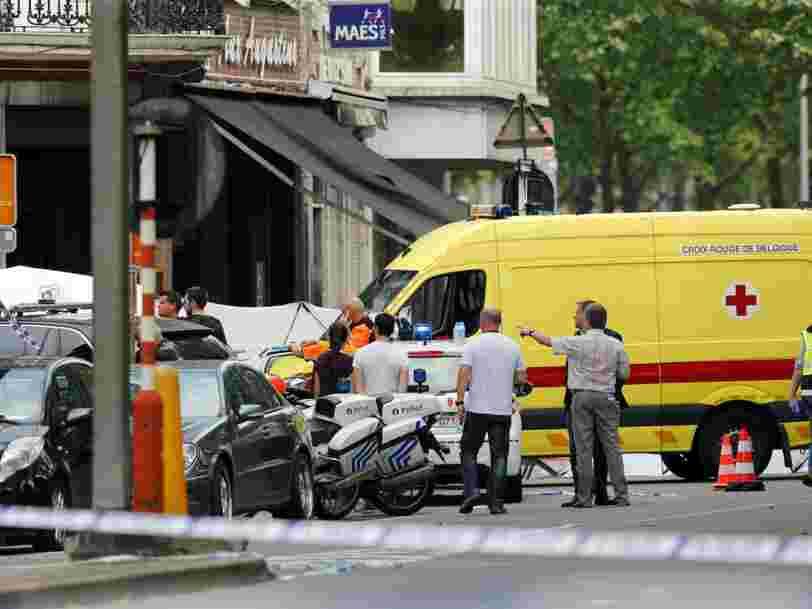 Un assaillant a tué 2 policiers et 1 passager de voiture à Liège avant d'être abattu — la 'qualification terroriste' est retenue