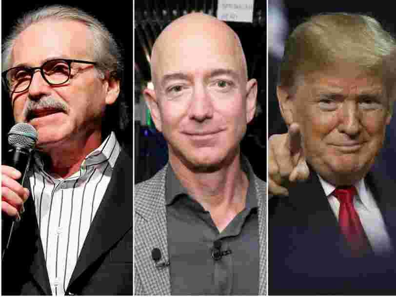 Jeff Bezos, Donald Trump, ses textos coquins... on vous résume l'affaire