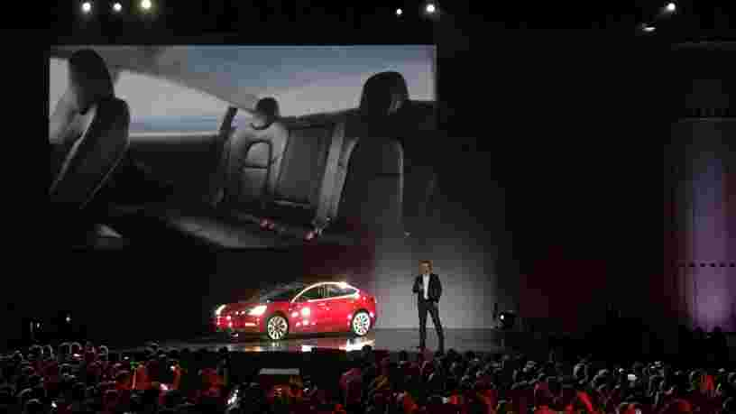 Tesla publie des résultats supérieurs aux attentes au T2 et annonce 1800 réservations par jour pour la Model 3