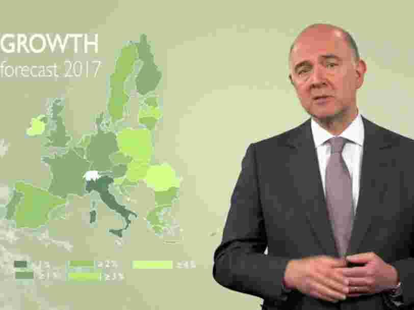 L'UE pense que tous ses membres seront en croissance cette année et l'année prochaine — mais il y aura des inégalités