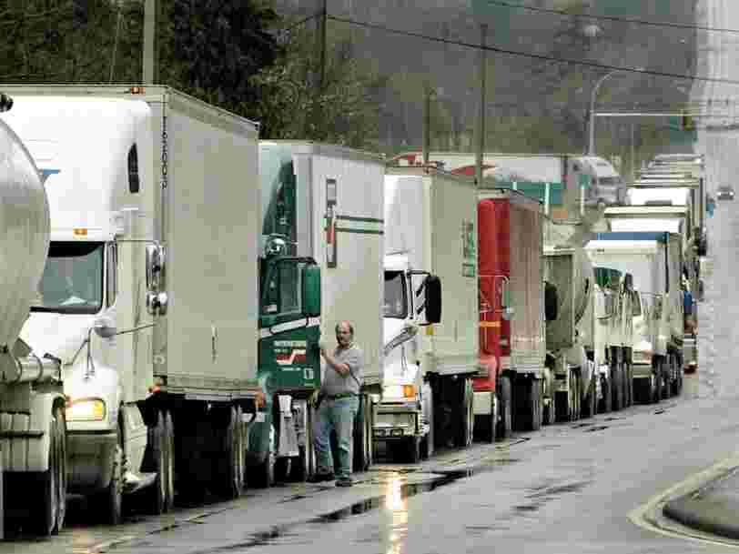 La région Hauts-de-France risque de se faire 'distancer par d'autres' après le Brexit à cause d'un problème de camions