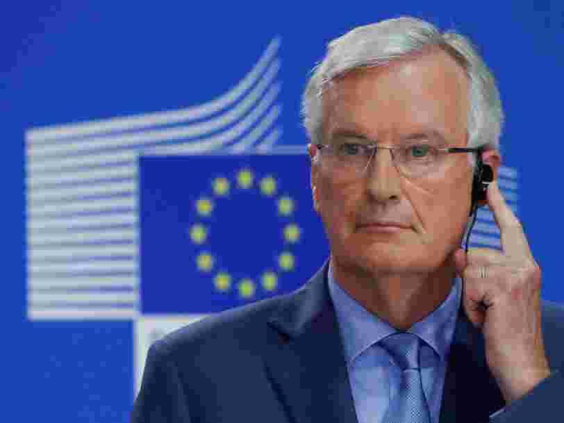 Michel Barnier dit qu'un accord sur le Brexit avec le Royaume-Uni est possible 'd'ici 6 ou 8 semaines'