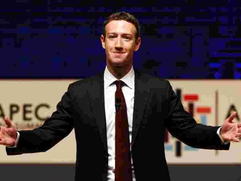 Le contrôle exercé par Zuckerberg sur Facebook pourrait menacer son cours de Bourse, selon Macquarie