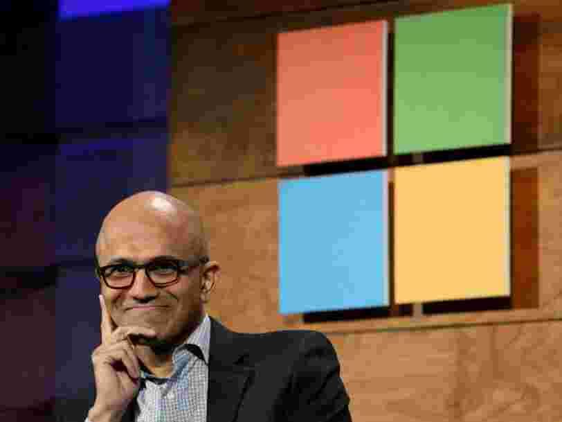 On vous raconte l'ascension de Satya Nadella, le DG qui a rendu Microsoft plus rentable qu'Apple en 5 ans