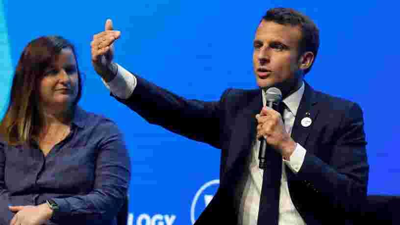Contrairement à Donald Trump, Emmanuel Macron n'est pas opposé à la présence de Huawei