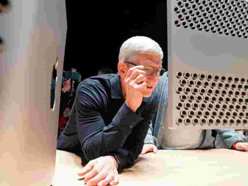 Tim Cook assure que les designers d'Apple travaillent sur des projets qui vont vous scotcher