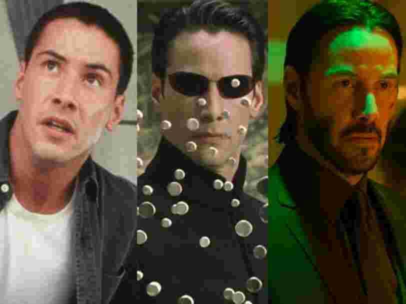 Les 9 meilleurs rôles de Keanu Reeves, bientôt de retour dans 'Matrix 4'
