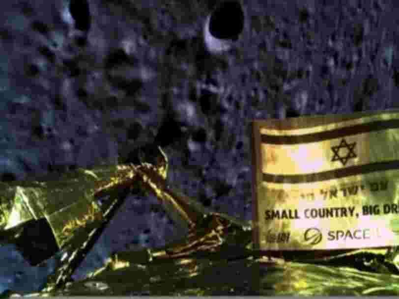 Avec l'alunissage raté de Beresheet, la société israélienne SpaceIL pourrait passer à côté d'un important contrat avec la NASA