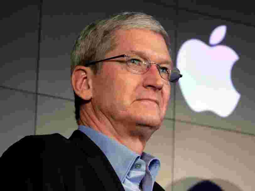 Tim Cook, le patron d'Apple, bombarde ses employés de questions pour les garder sur le qui-vive