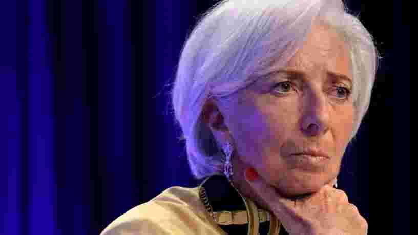 Christine Lagarde ne croit pas à une suggestion d'Emmanuel Macron pour lutter contre le monopole de Google ou Facebook