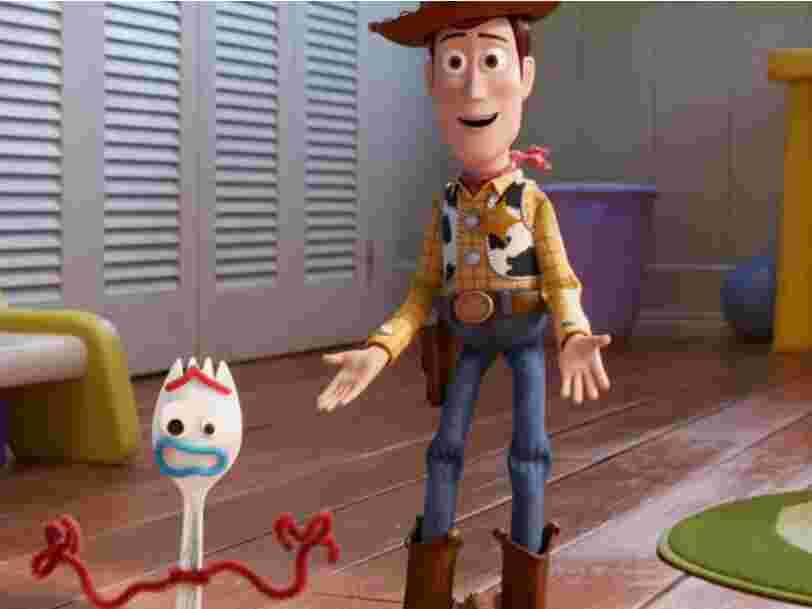 'Toy Story 4' maintient sa 1ère position au box-office américain, mais est moins performant que les autres suites de Pixar