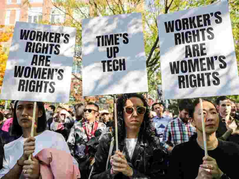 Des milliers de salariés de Google partout dans le monde ont manifesté contre la manière dont l'entreprise gère les comportements sexistes
