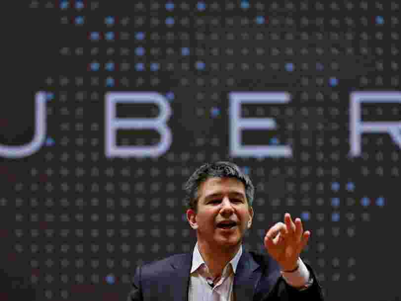 Uber a vendu pour 20 Mds$ de courses en 2016 mais accuse toujours des milliards de pertes