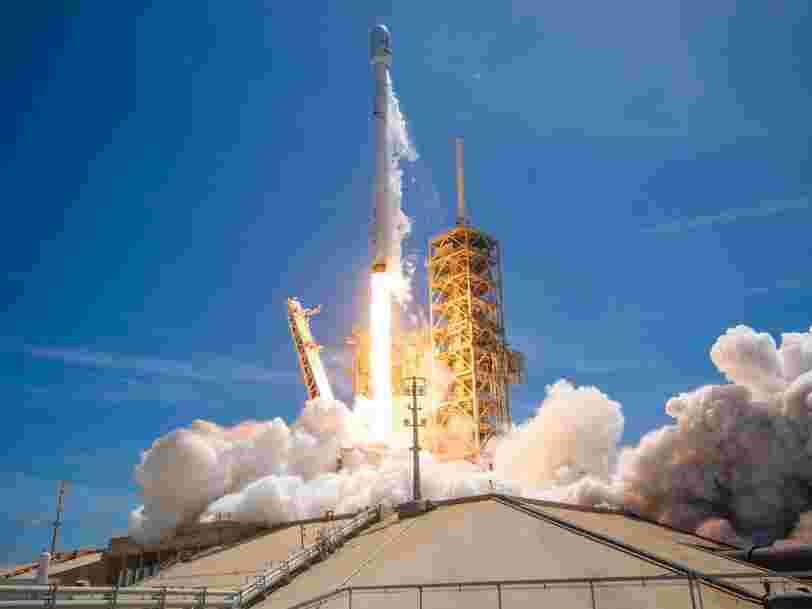Les succès de SpaceX commencent à inquiéter les Russes