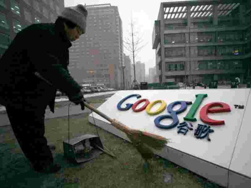 Google veut apparemment lancer un moteur de recherche censuré en Chine après que son DG s'est entretenu secrètement avec le gouvernement chinois