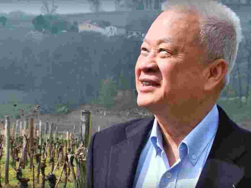 Le premier Chinois propriétaire d'un domaine viticole poursuit ses achats 20 ans après — il vient de s'emparer d'un grand cru de Bordeaux