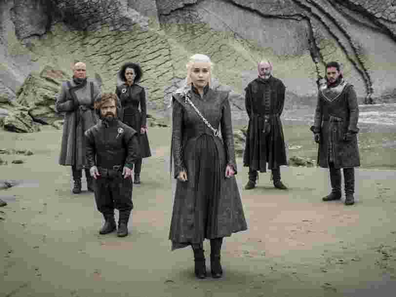 La saison 7 de 'Game of Thrones' a été piratée plus d'un milliard de fois