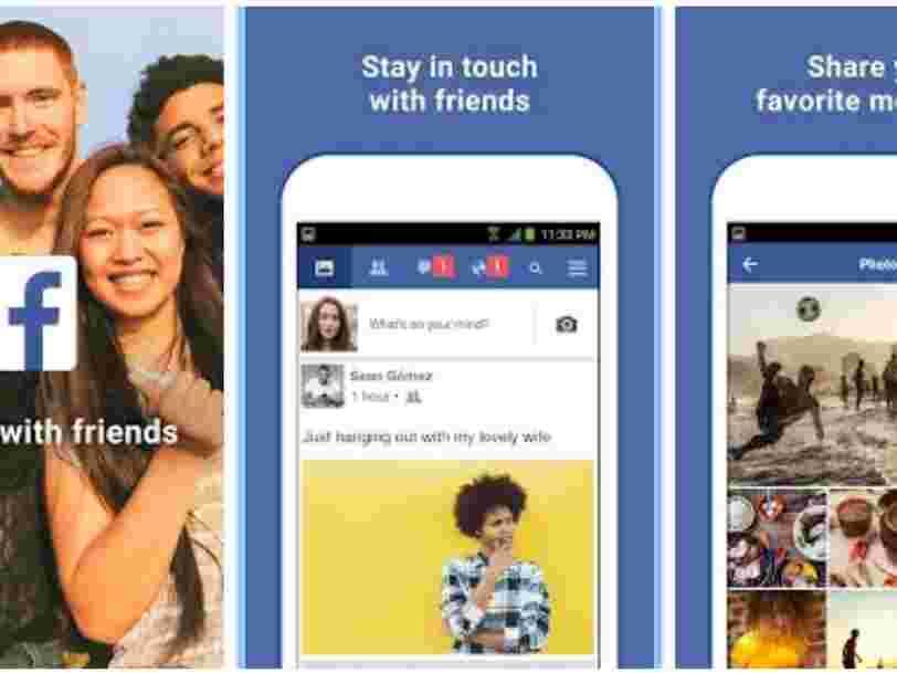 Facebook lance son application pour marchés émergents en France
