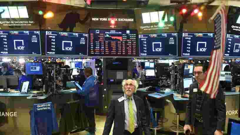 Wall Street enregistre un rebond spectaculaire — le Dow Jones gagne plus de 1000 points