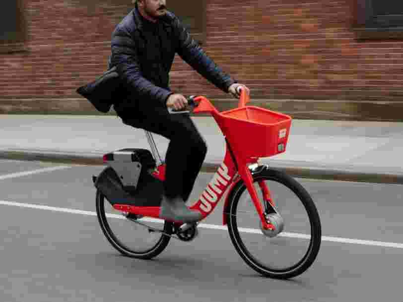 Uber a laissé entendre qu'il pourrait avoir de sérieux problèmes s'il ne s'imposait pas sur le marché des vélos et trottinettes électriques