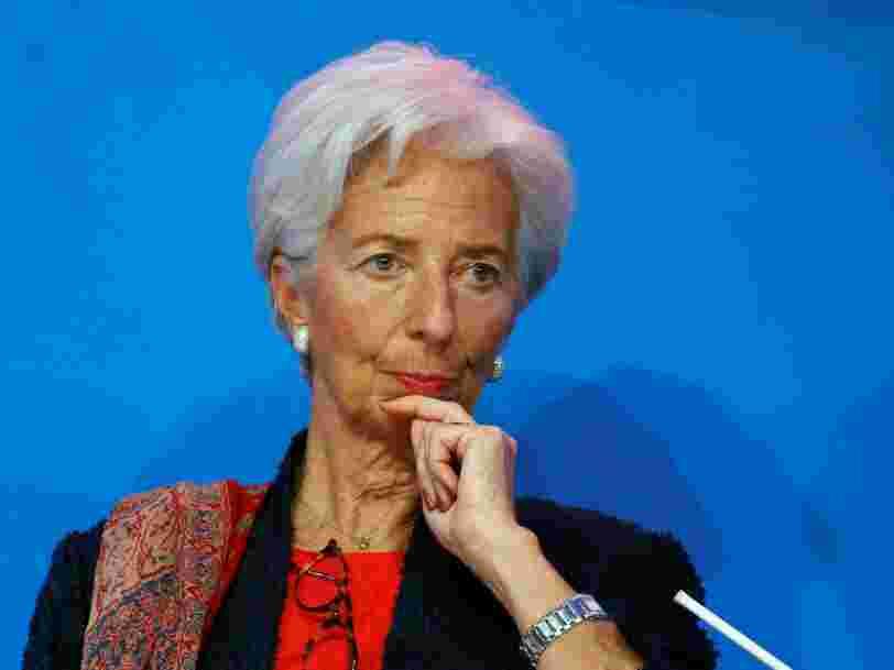 Christine Lagarde vient de dire ce que les investisseurs ont vraiment à craindre des nouveaux tarifs douaniers de Trump