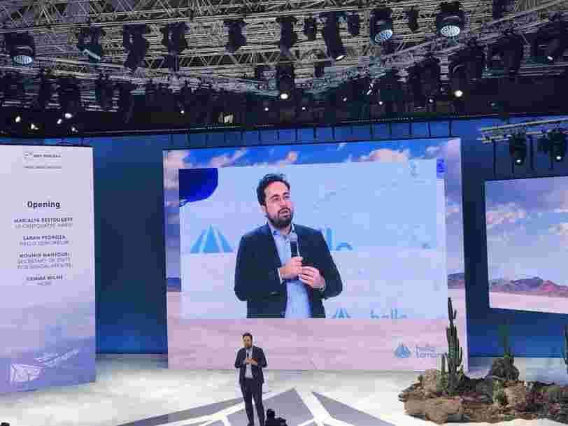Mounir Mahjoubi dit que l'un des plus grands défis de la France est de convaincre les citoyens que l'innovation est 'une réponse à tous les défis'