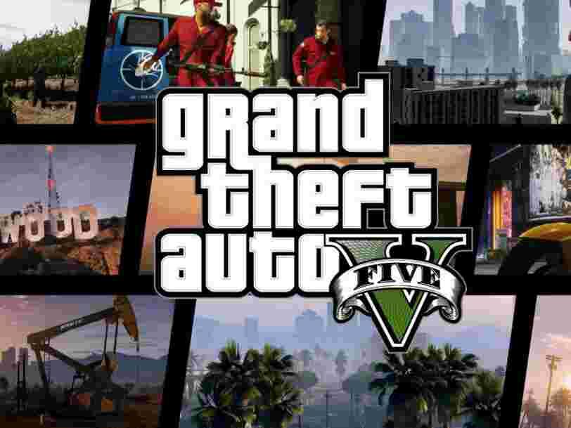 GTA V est désormais le plus gros succès de l'histoire pour un produit de divertissement