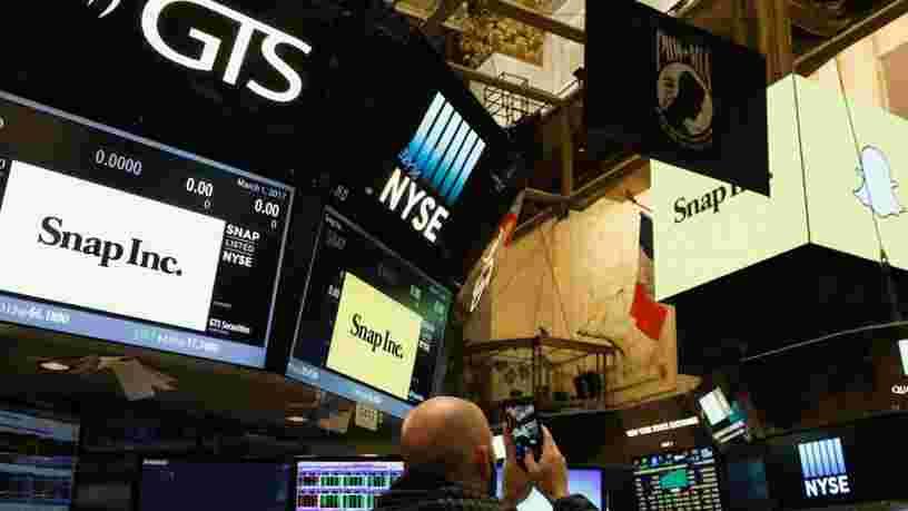 Snap s'introduit en Bourse sur une valorisation de 24 Mds$