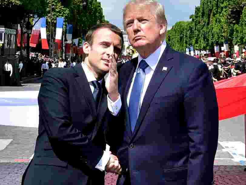 Le gouvernement Trump réfléchit à organiser une parade militaire à Washington qui s'inspire du défilé du 14 juillet