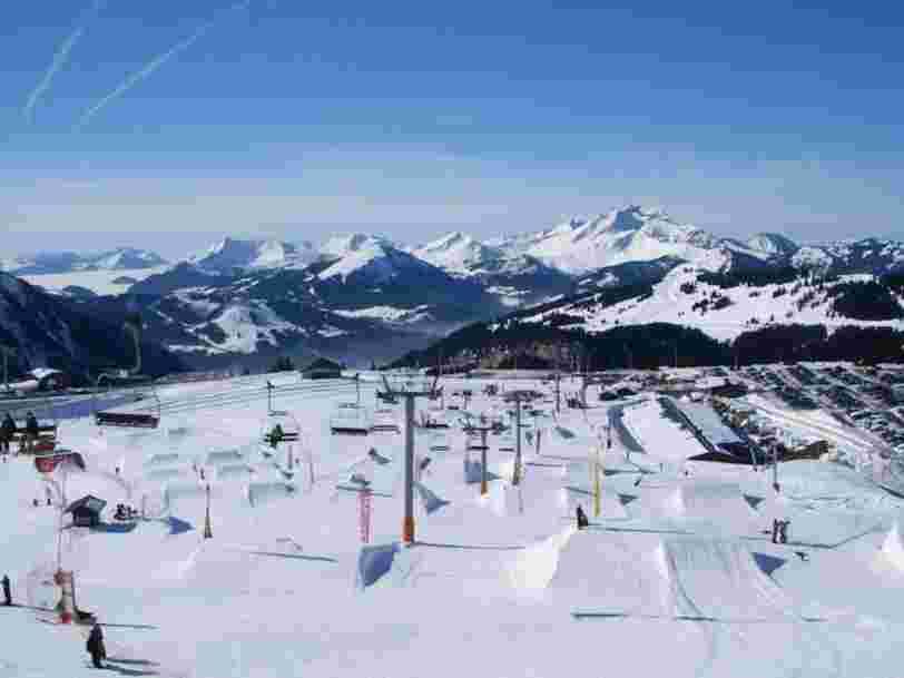 Les 10 stations de sports d'hiver françaises qui offrent les meilleures conditions de ski
