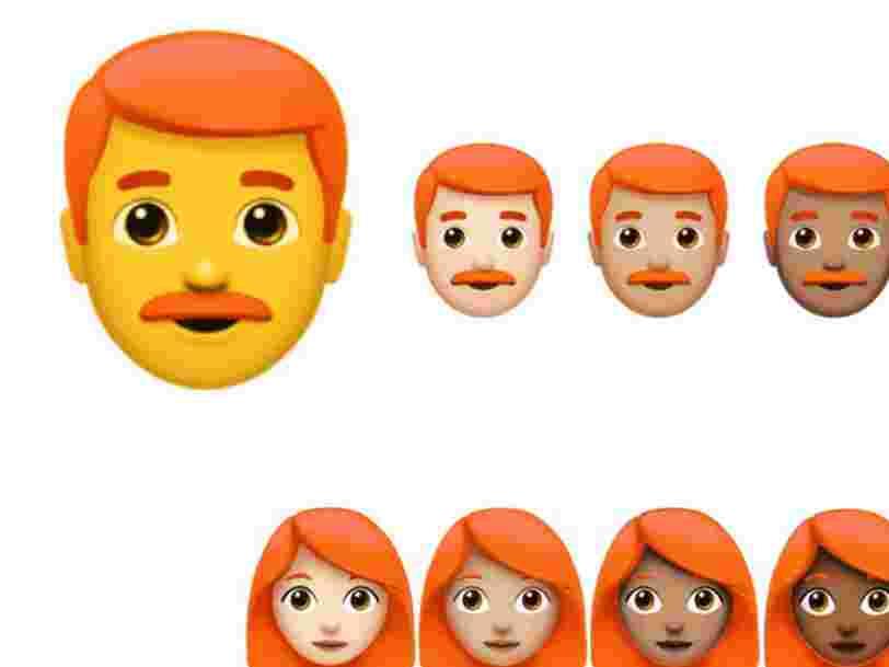 L'emoji roux est à l'ordre du jour d'une réunion au siège d'Apple