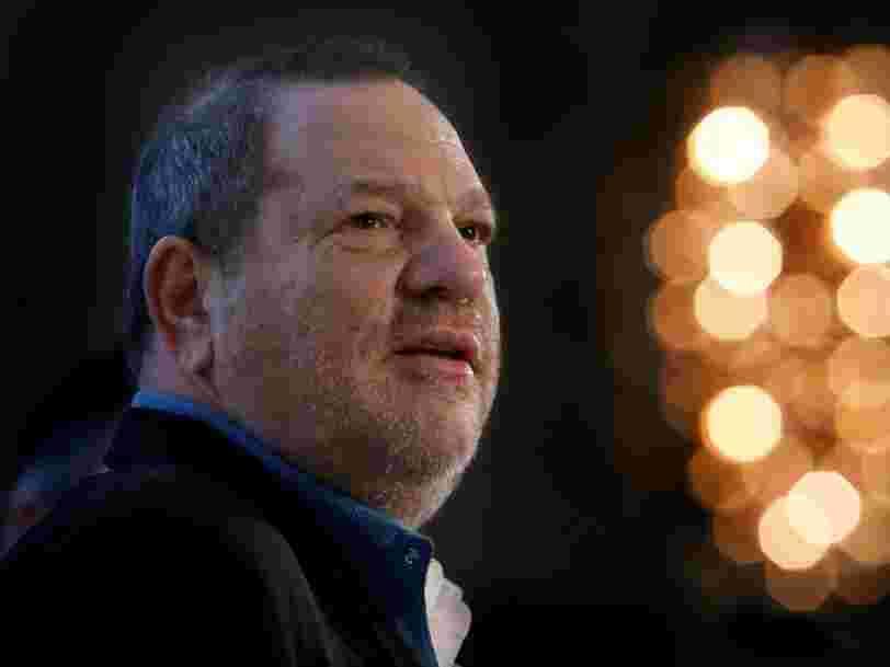 Le studio de Harvey Weinstein va se déclarer en faillite après le scandale #MeToo