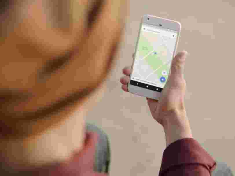 Google Maps pourrait bientôt vous alerter quand votre taxi fait un détour