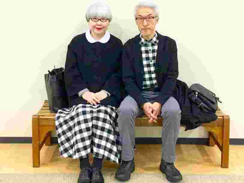 Ce couple japonais est devenu célèbre sur Instagram en portant chaque jour des vêtements assortis