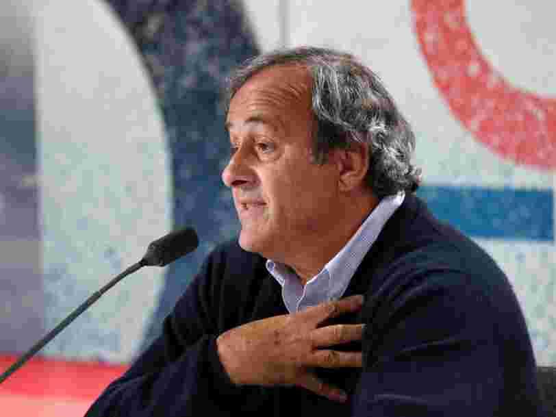 Michel Platini placé en garde à vue au sujet de l'attribution de la Coupe du monde au Qatar