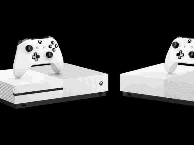 Microsoft dévoile une Xbox One moins chère sans lecteur de disque... et les 6 autres choses à savoir dans la tech ce matin