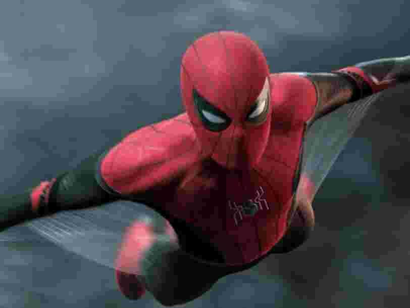 'Spider-Man : Far From Home' dépasse les attentes au box office après son premier week-end en salles