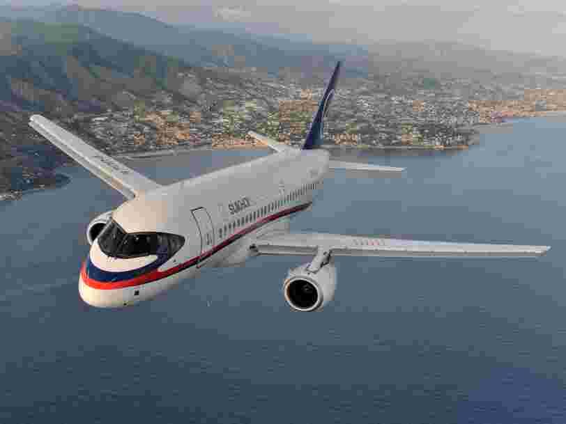 Le Soukhoï Superjet-100, un avion russe qui ne faisait déjà pas l'unanimité