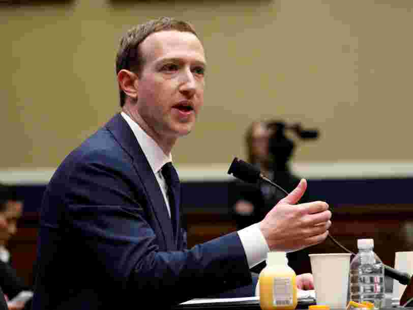 Des actionnaires réclament à Mark Zuckerberg de quitter la présidence de Facebook