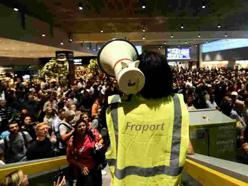 L'aéroport de Francfort a été partiellement évacué après qu'une famille de Français échappe aux contrôles de sécurité