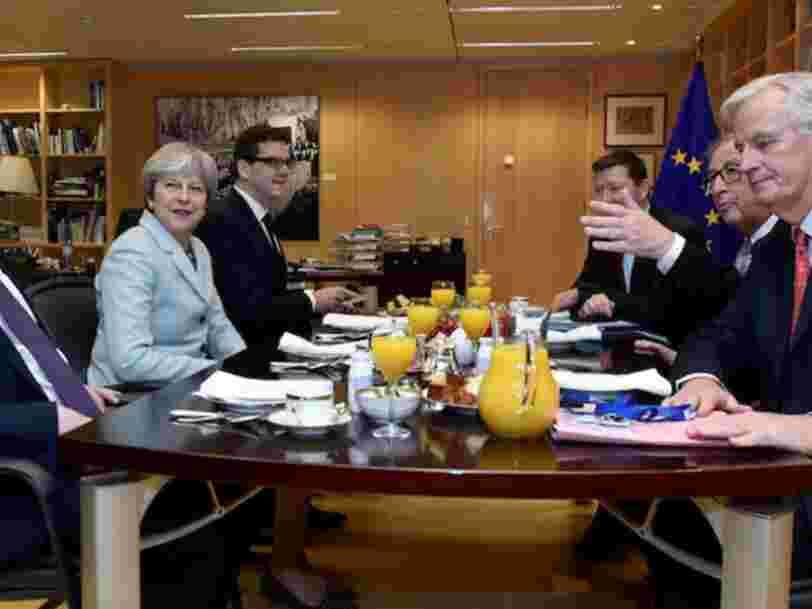 L'UE va rejeter la proposition de Theresa May pour que le Royaume-Uni conserve son accès au marché unique pour les biens après le Brexit