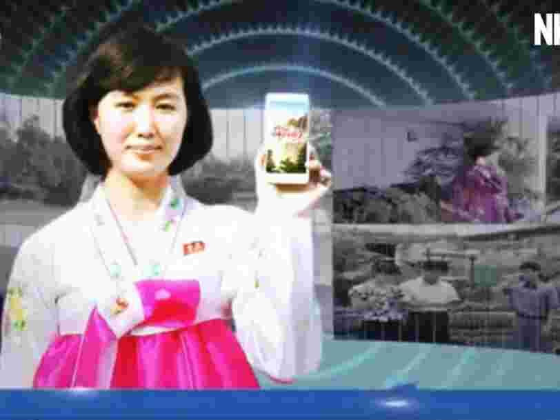 Voici 5 smartphones que les Nord-Coréens ont utilisé et utilisent aujourd'hui